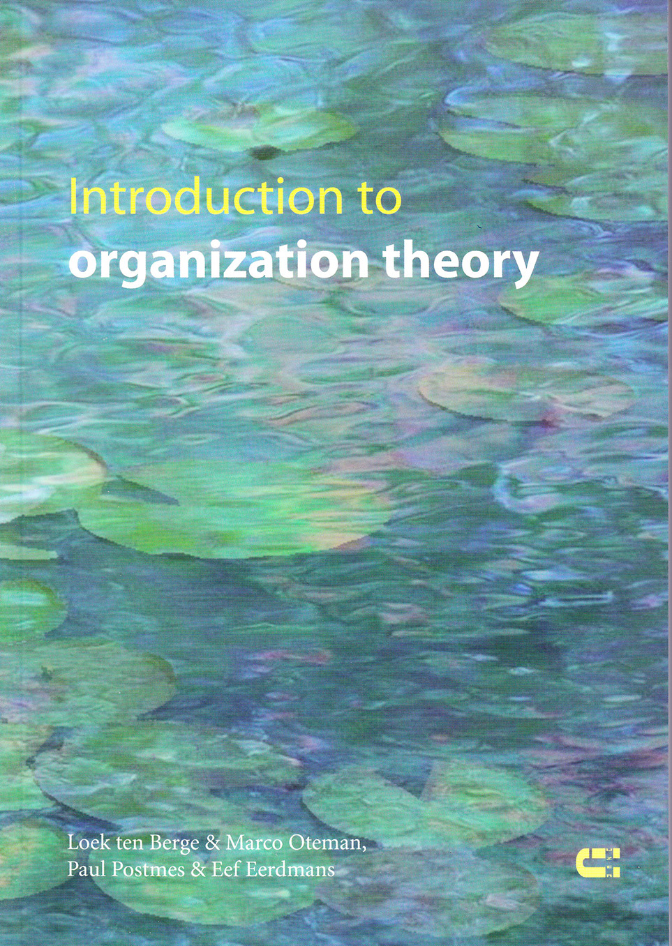 Loek ten Berge Introduction to organization theory